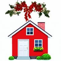 Holiday season shopping home