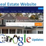 real estate website updates