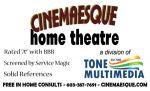 Cinemaesque Home Theatre and Security-Hometaurus
