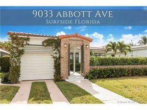 9033 Abbott Ave. Surfside, Florida - Hometaurus