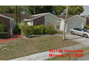 9821 W Fern Ln. Miramar, Florida - Hometaurus
