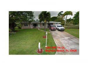 1301 NW 7th Ct. Boynton Beach, Florida - Hometaurus